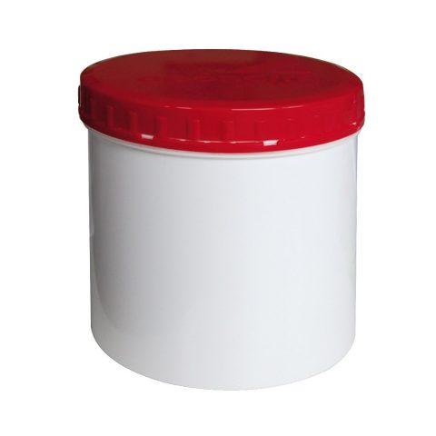 TOPITEC® Piros-Fehér, Receptúra/Deffektúra tégelyek