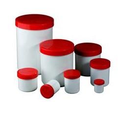 Aponorm® Piros/Fehér, menetes tetejű tégelyek