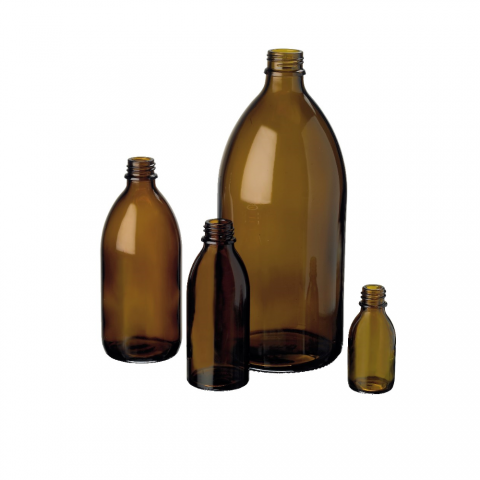 Barna üvegpalackok