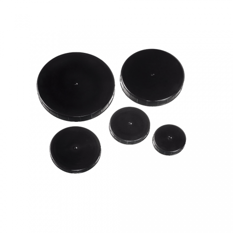 Aponorm fekete csavaros kupak